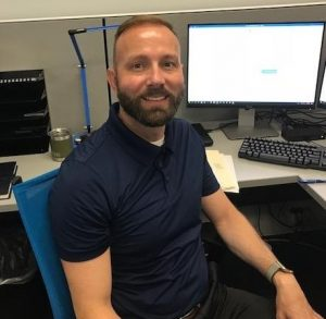 New Inside Account Manager Chris Doeller